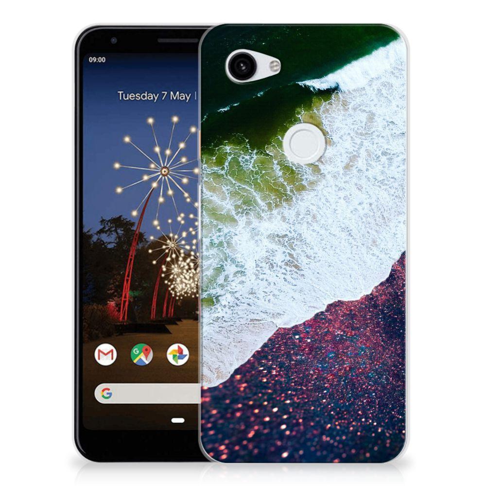 Google Pixel 3A XL TPU Hoesje Sea in Space