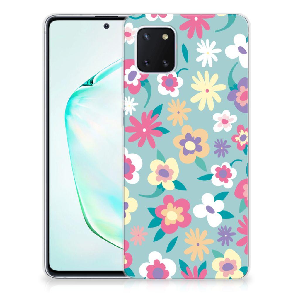 Samsung Galaxy Note 10 Lite TPU Case Flower Power