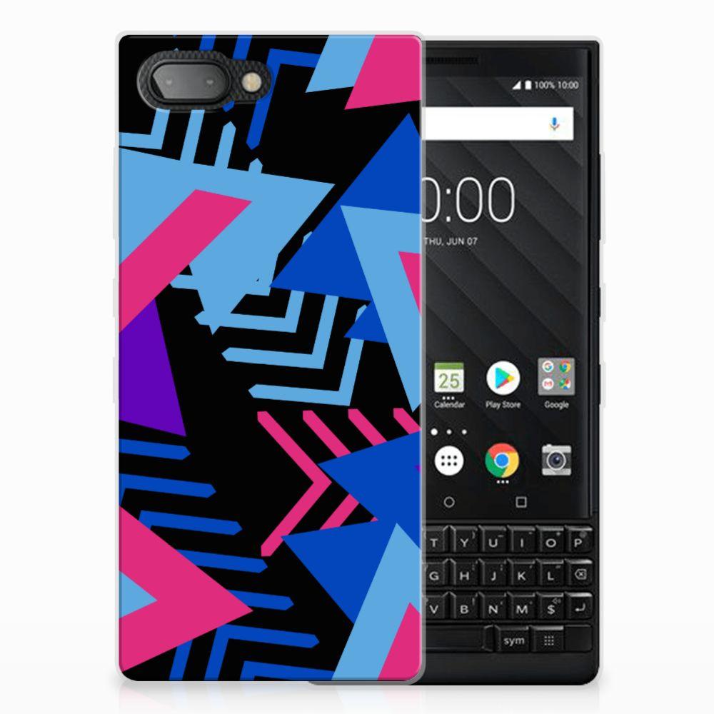 BlackBerry Key2 TPU Hoesje Funky Triangle