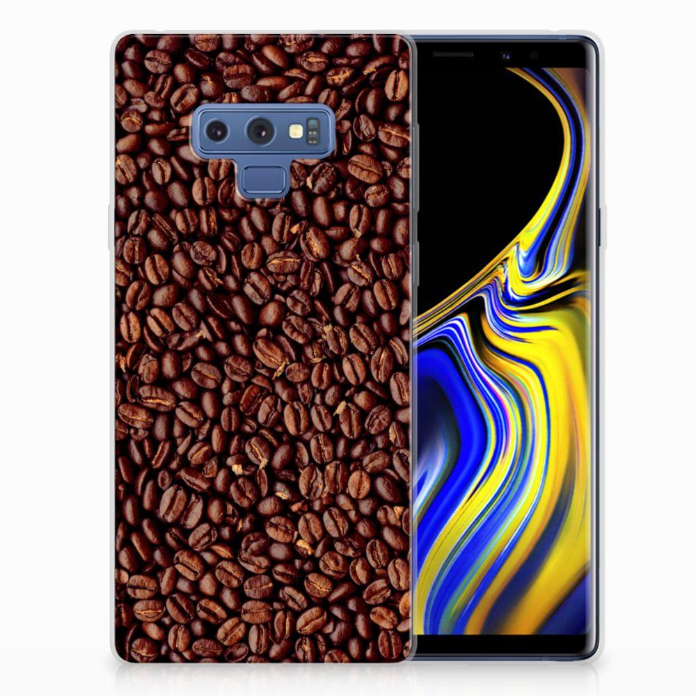 Samsung Galaxy Note 9 Siliconen Case Koffiebonen