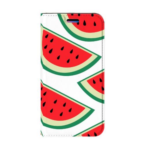 Apple iPhone X | Xs Uniek Standcase Hoesje Watermelons