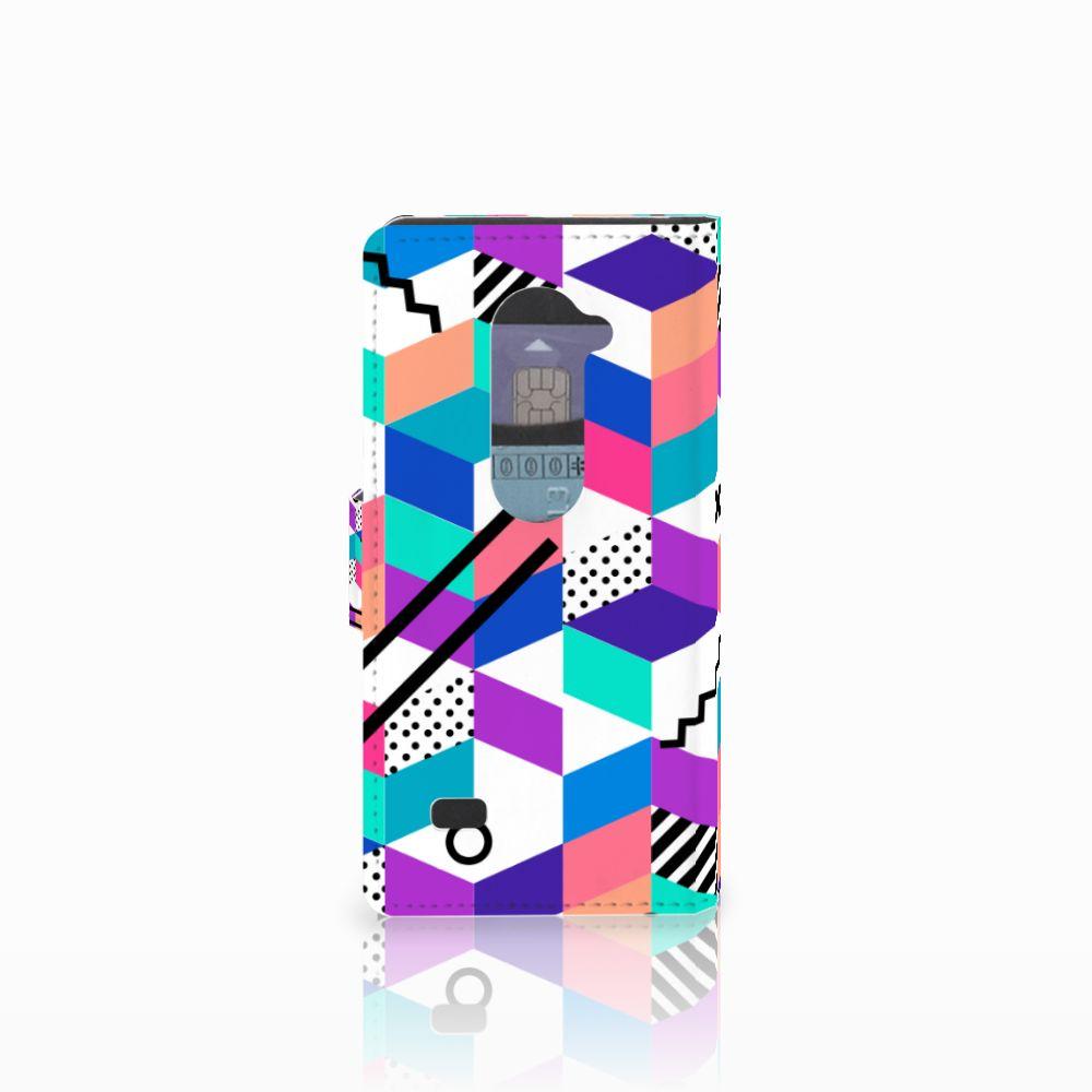 LG Leon 4G Bookcase Blokken Kleurrijk