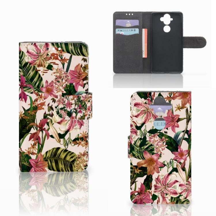 Nokia 8 Sirocco | Nokia 9 Hoesje Flowers