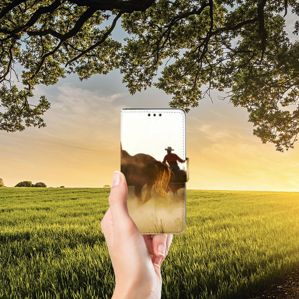 Sony Xperia Z5 | Z5 Dual Telefoonhoesje met Pasjes Design Cowboy