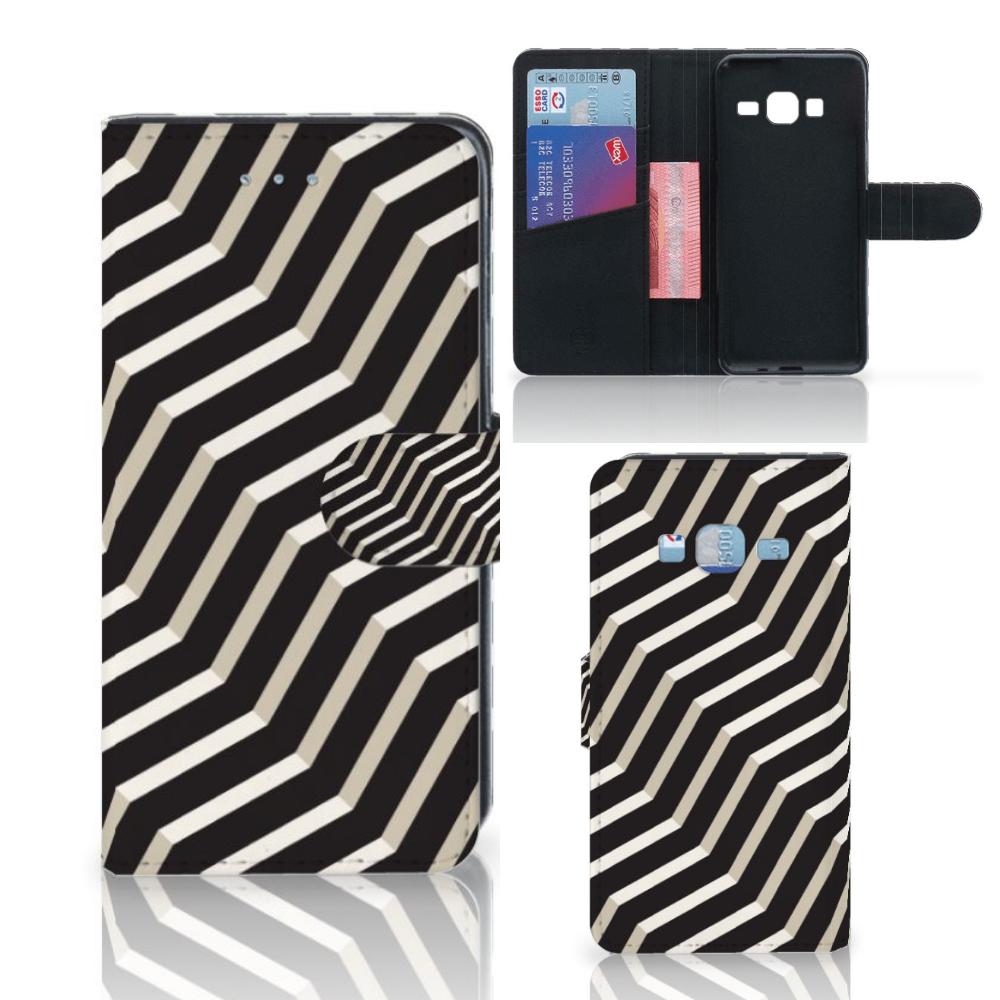 Samsung Galaxy J3 2016 Bookcase Illusion