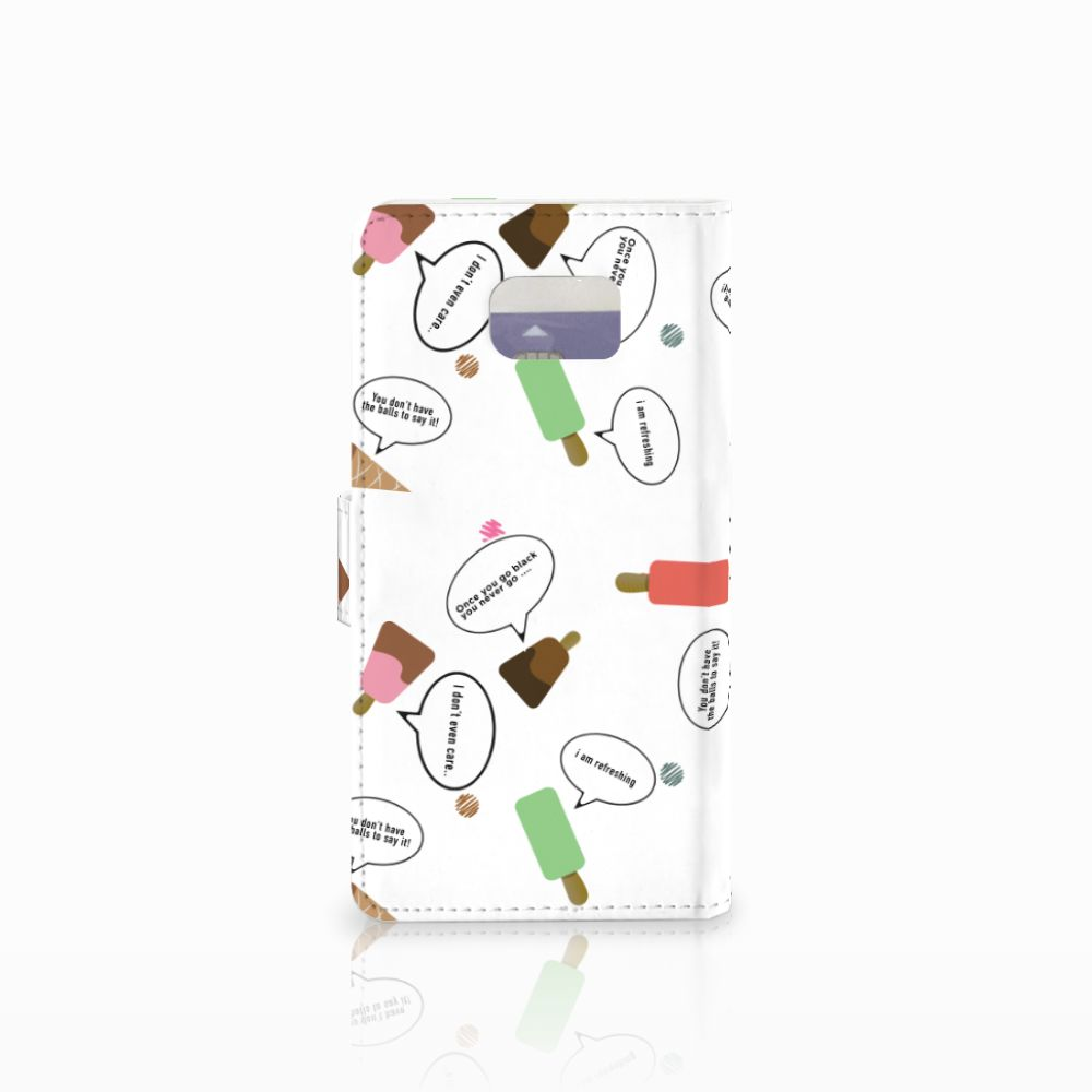 Samsung Galaxy Note 5 Book Cover IJsjes