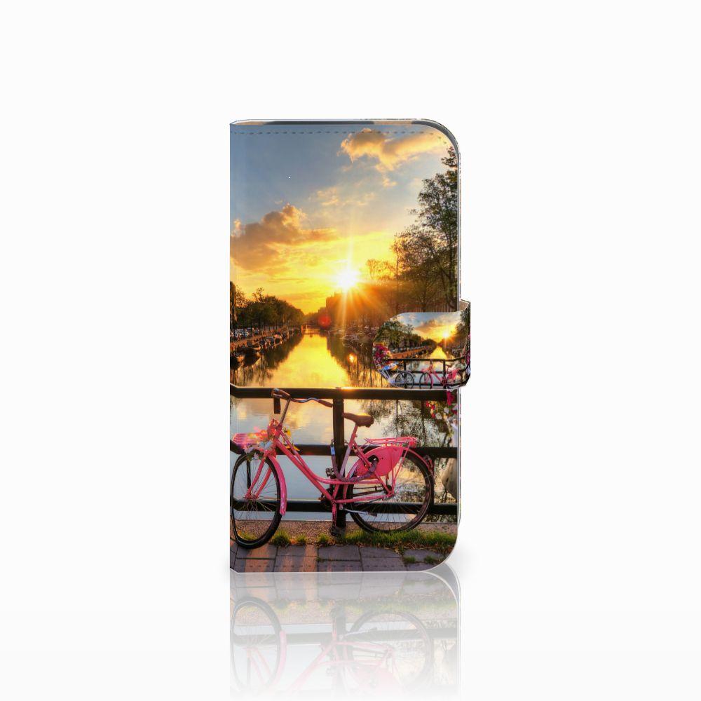 HTC One M8 Uniek Boekhoesje Amsterdamse Grachten