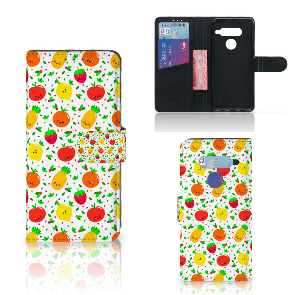 LG V40 Thinq Book Cover Fruits