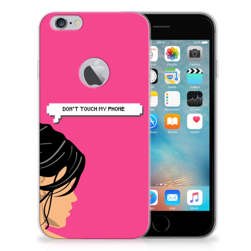 Apple iPhone 6 Plus | 6s Plus Silicone-hoesje Woman DTMP