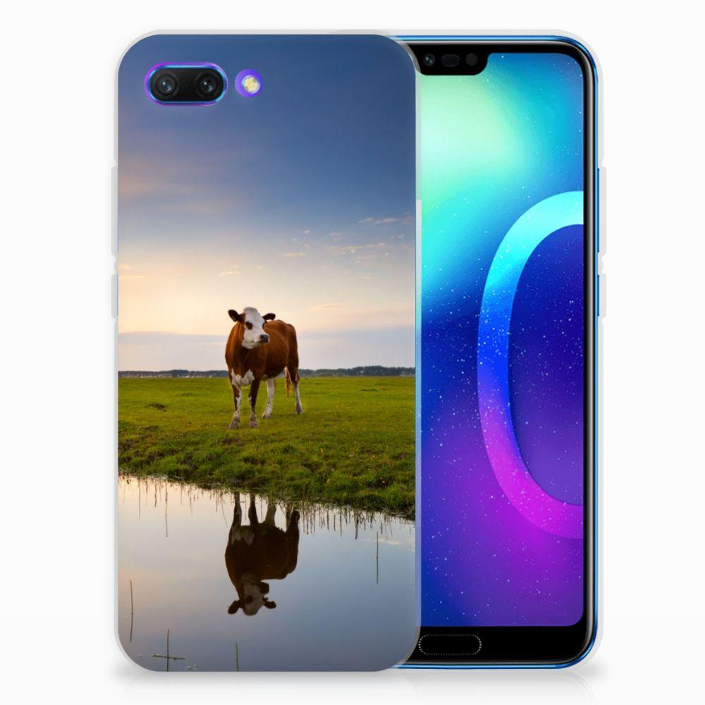 Huawei Honor 10 TPU Hoesje Design Koe