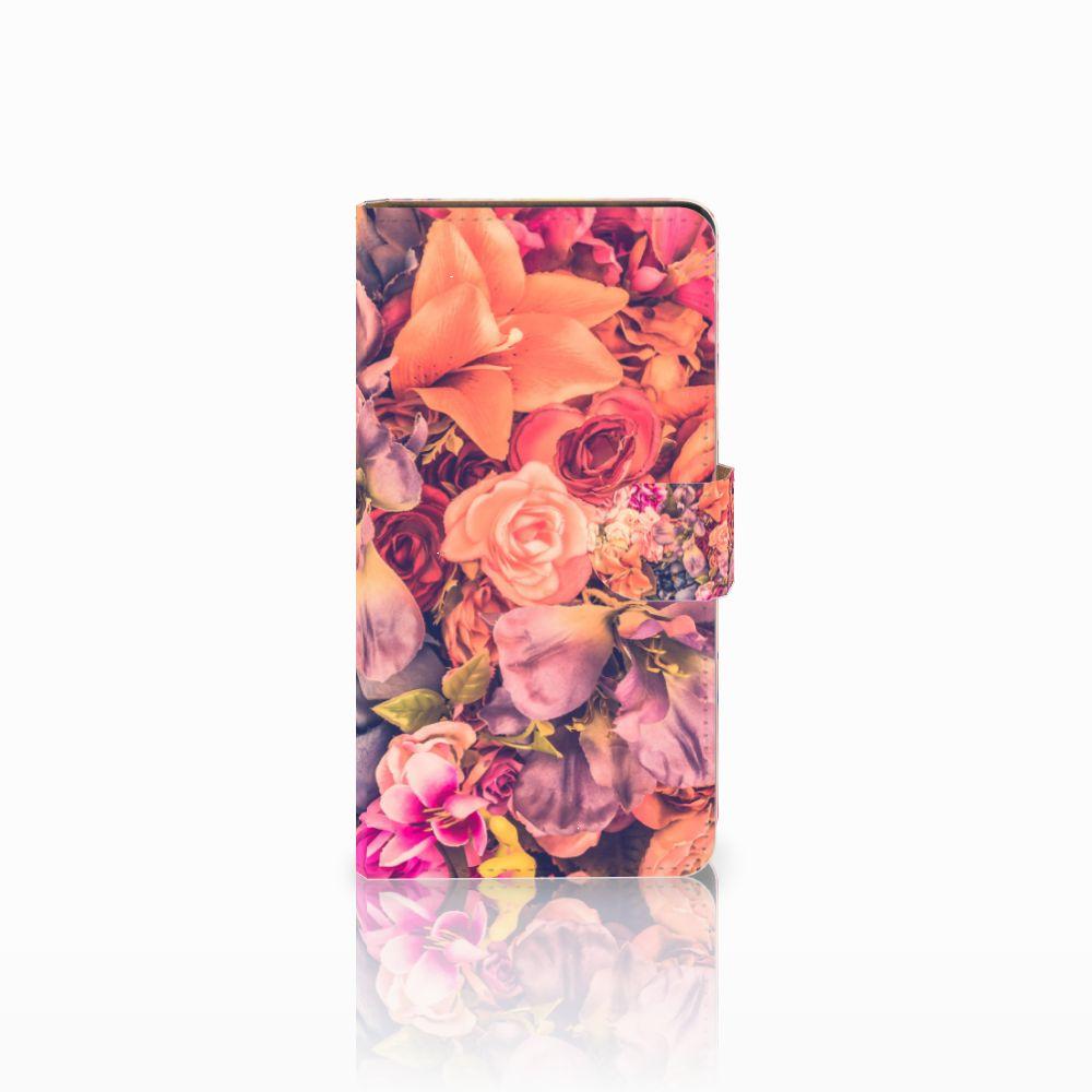 Huawei Ascend G700 Boekhoesje Design Bosje Bloemen