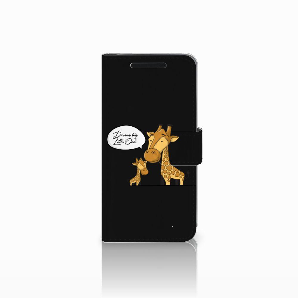 HTC One M9 Uniek Boekhoesje Giraffe