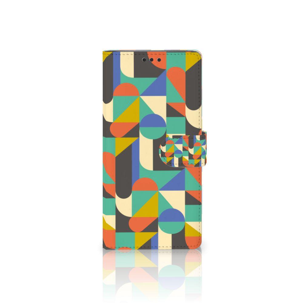 Sony Xperia XA Ultra Uniek Boekhoesje Funky Retro