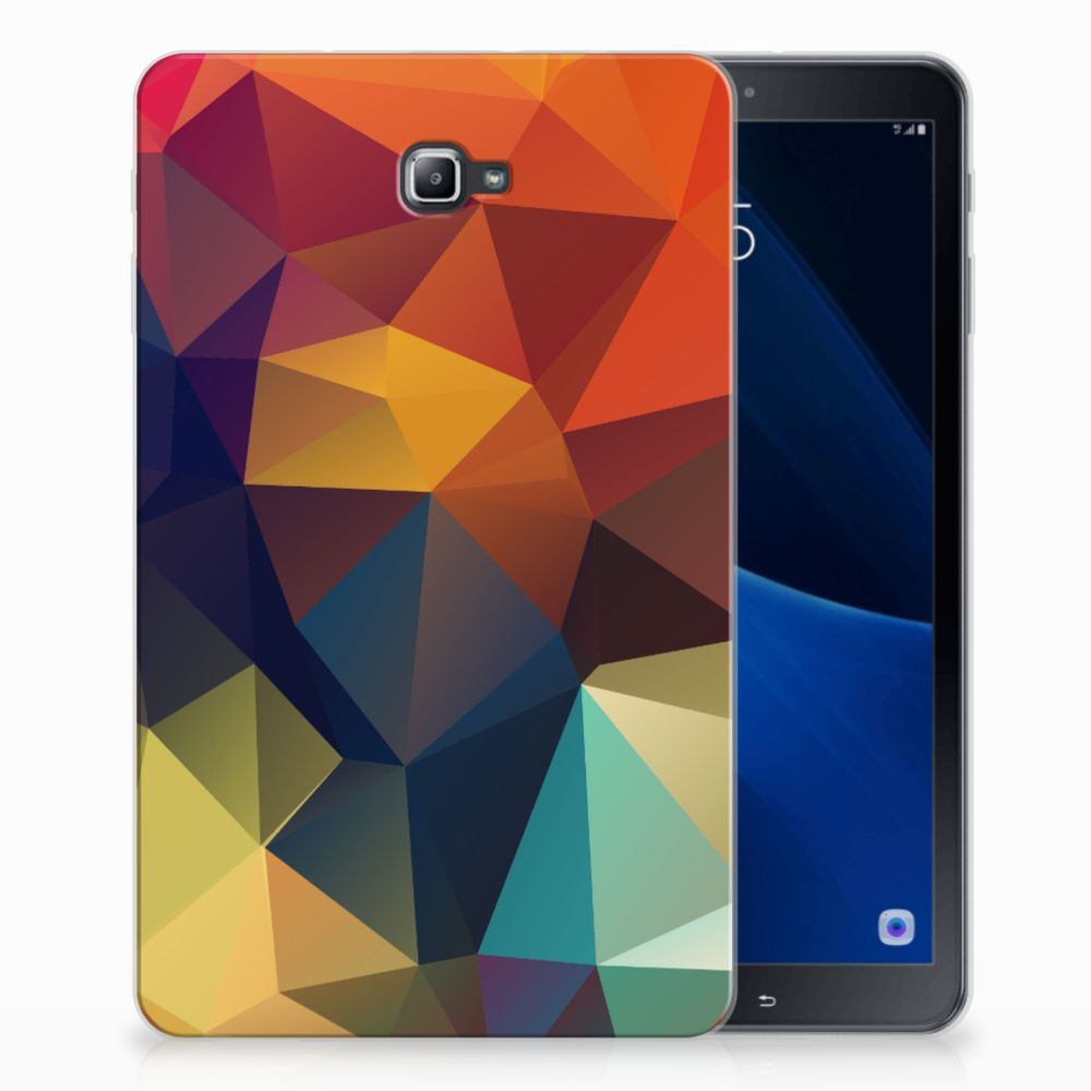 Samsung Galaxy Tab A 10.1 Back Cover Polygon Color