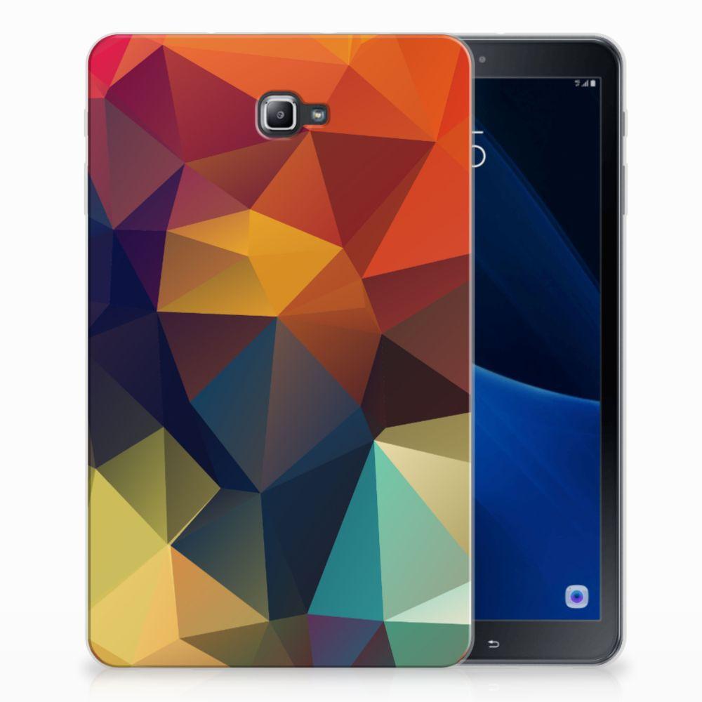 Samsung Galaxy Tab A 10.1 Back Cover Polygon Color