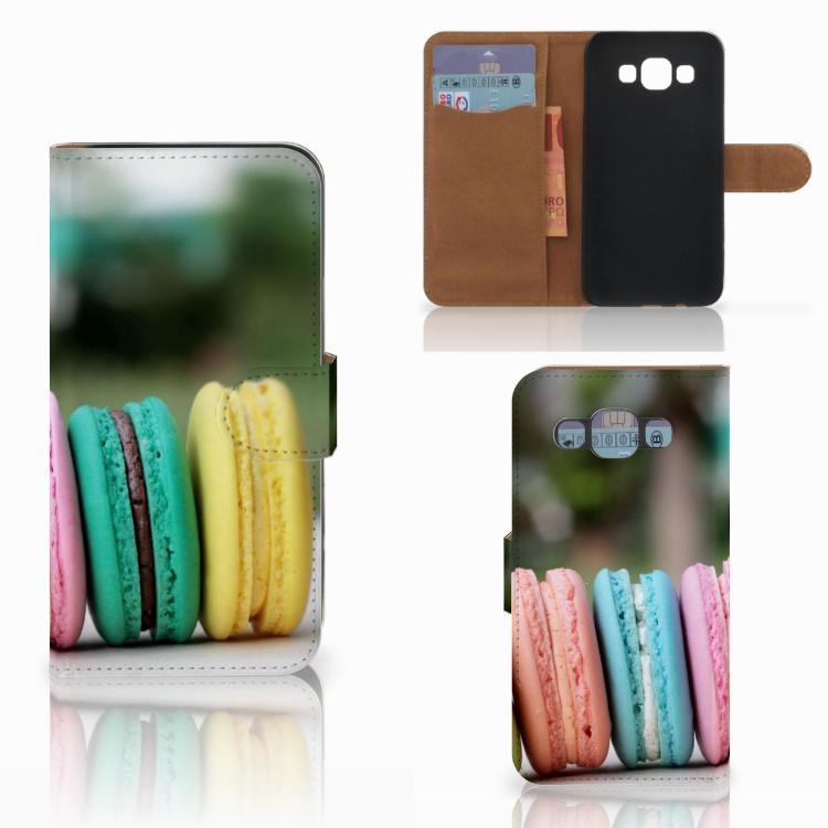 Samsung Galaxy E5 Book Cover Macarons