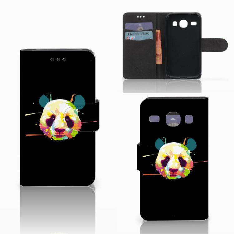 Samsung Galaxy Core i8260 Leuke Hoesje Panda Color
