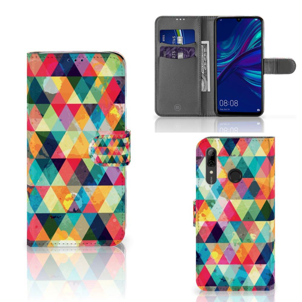 Huawei P Smart Plus (2019) Telefoon Hoesje Geruit