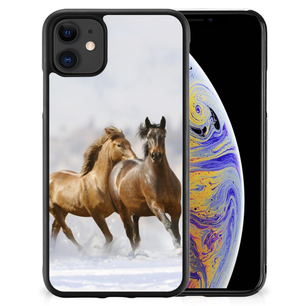 Apple iPhone 11 Back Cover Paarden