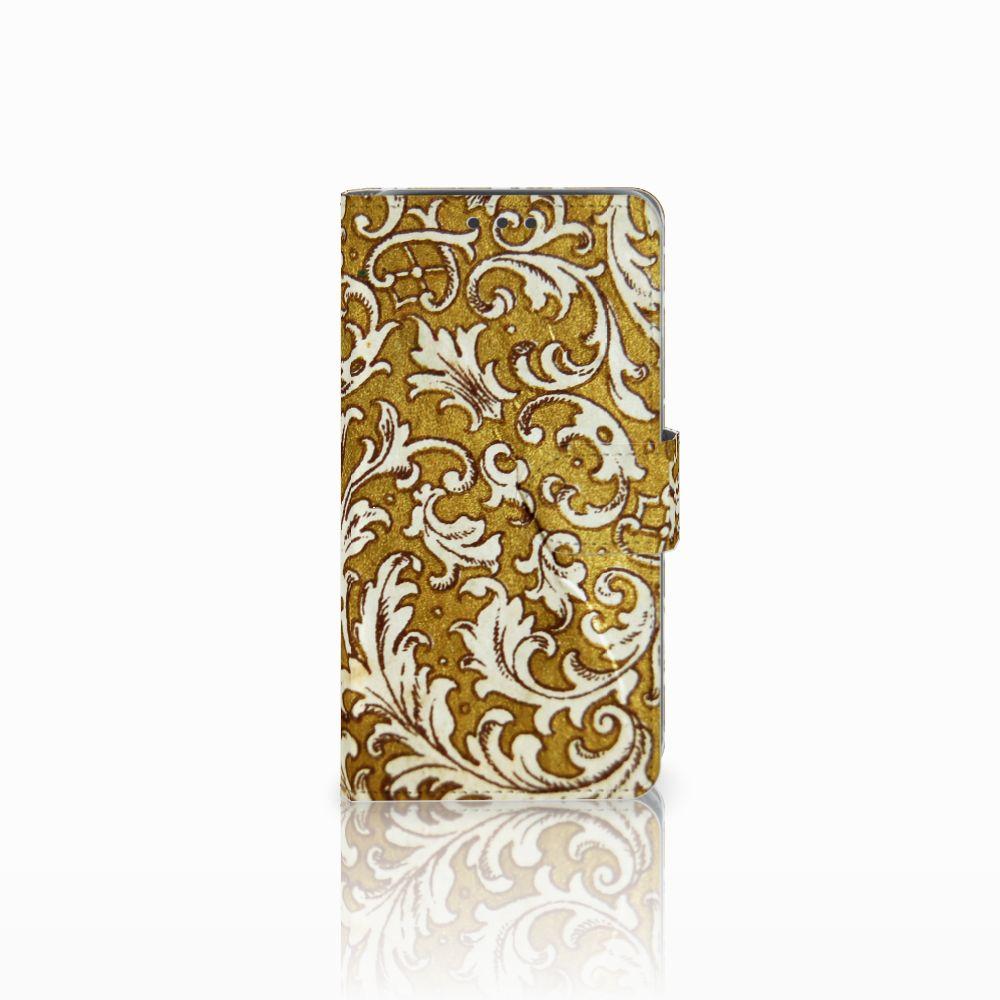 Wallet Case Samsung Galaxy J5 (2015) Barok Goud