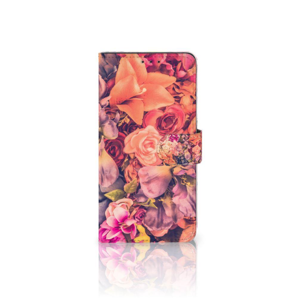 Samsung Galaxy A8 Plus (2018) Hoesje Bosje Bloemen