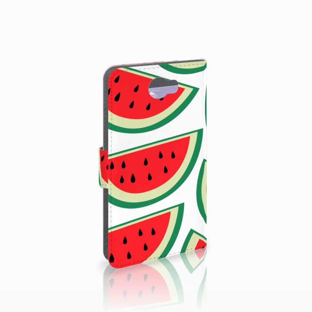 Huawei Y5 2 | Y6 II Compact Uniek Boekhoesje Watermelons