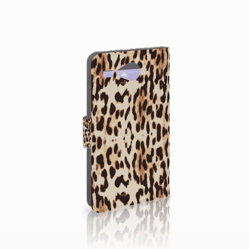 Acer Liquid Z520 Uniek Boekhoesje Leopard