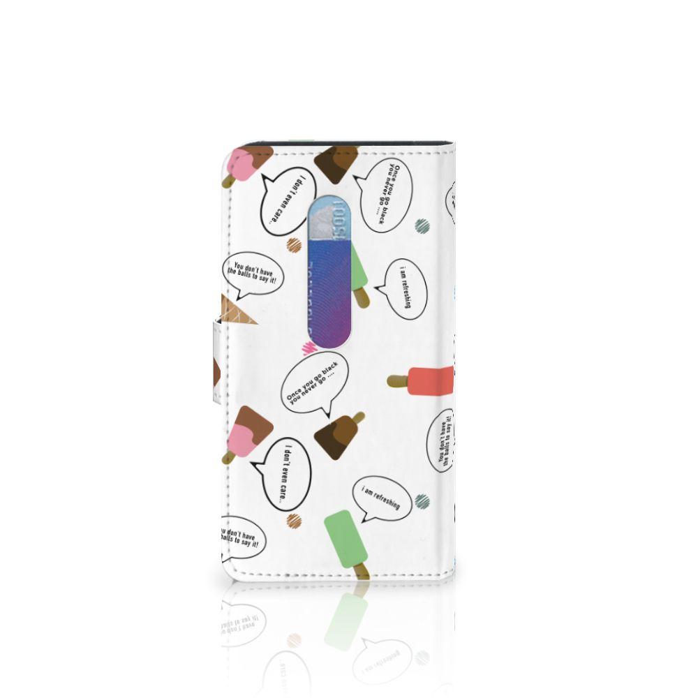 Motorola Moto G 3e Generatie Book Cover IJsjes
