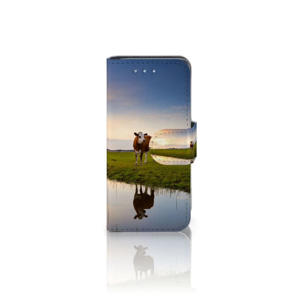 Samsung Galaxy S4 Mini i9190 Boekhoesje Design Koe