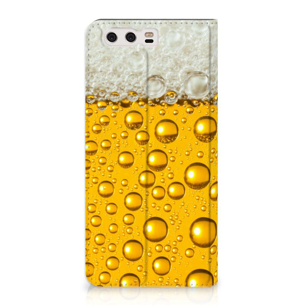 Huawei P10 Plus Uniek Standcase Hoesje Bier