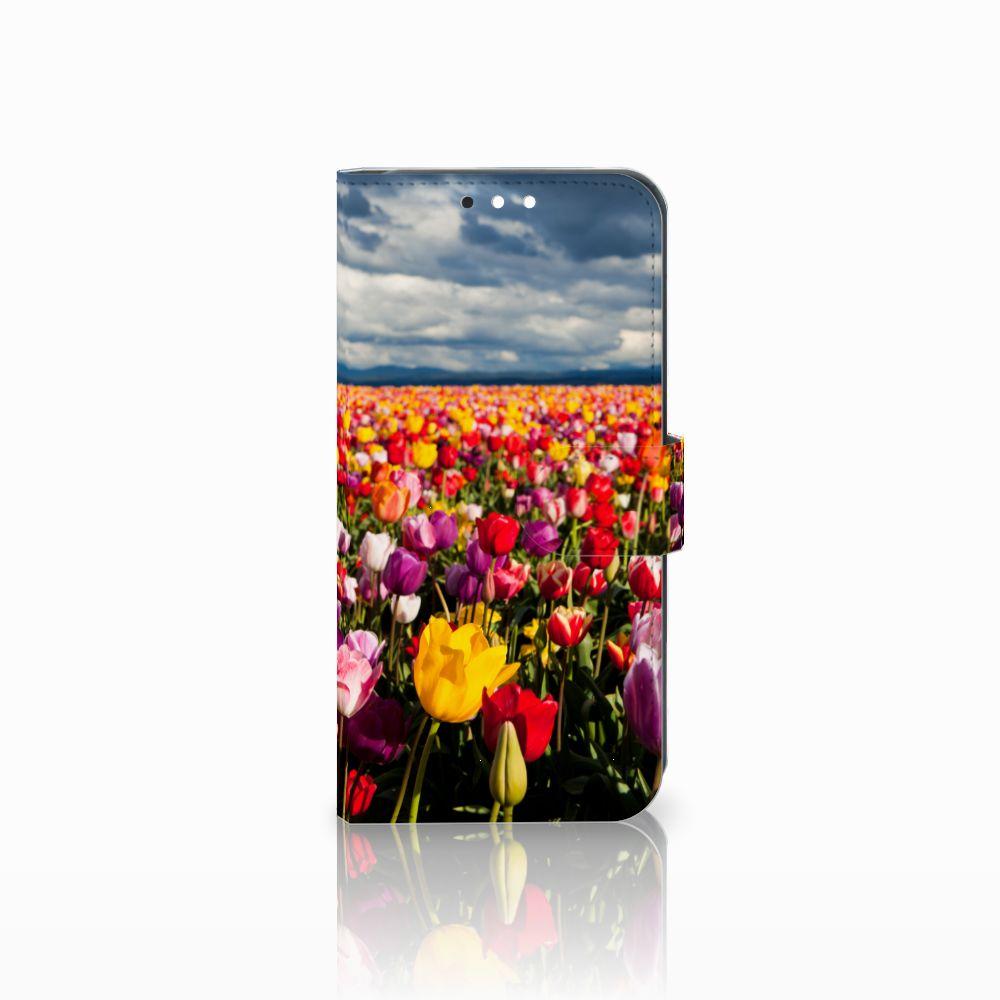 Huawei Mate 10 Lite Uniek Boekhoesje Tulpen