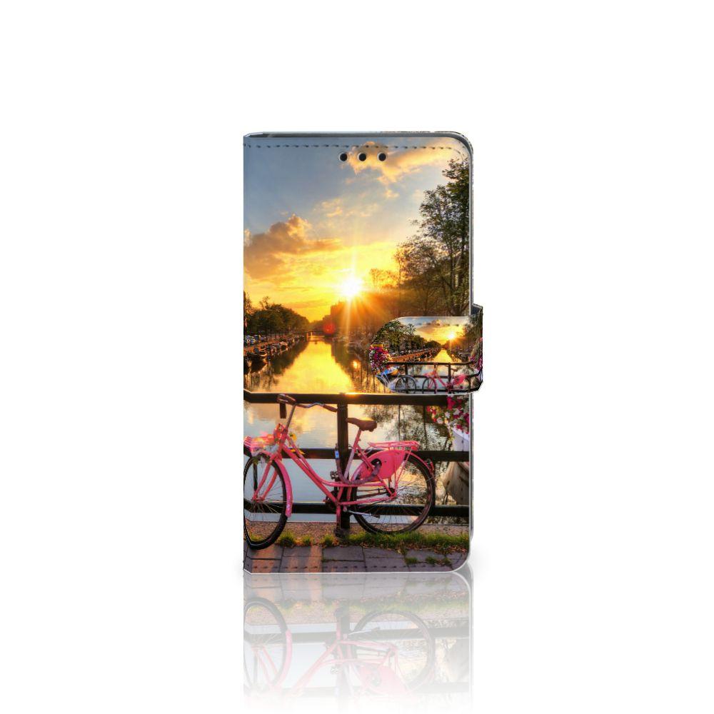 Sony Xperia Z5 | Z5 Dual Uniek Boekhoesje Amsterdamse Grachten