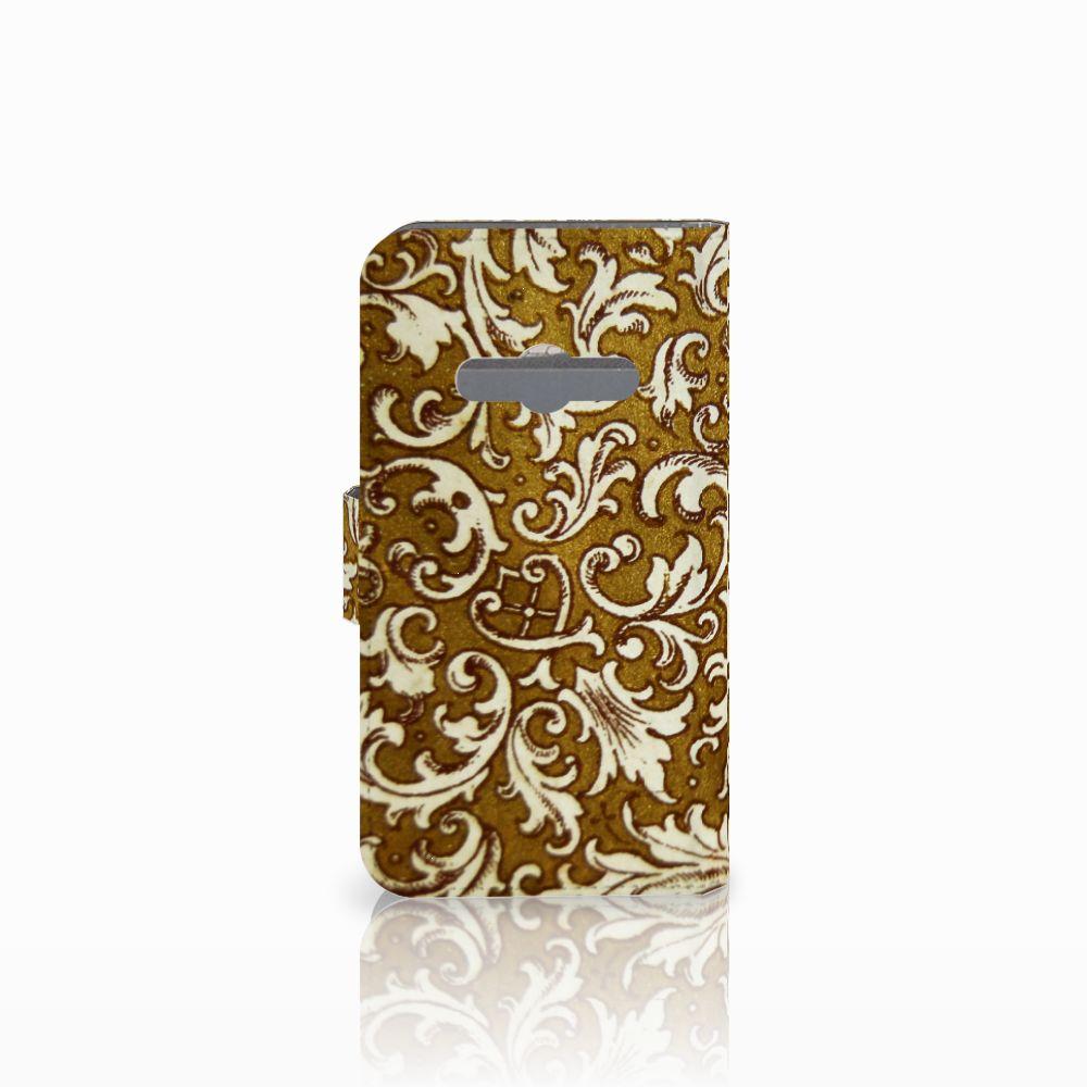 Wallet Case Samsung Galaxy Xcover 3   Xcover 3 VE Barok Goud
