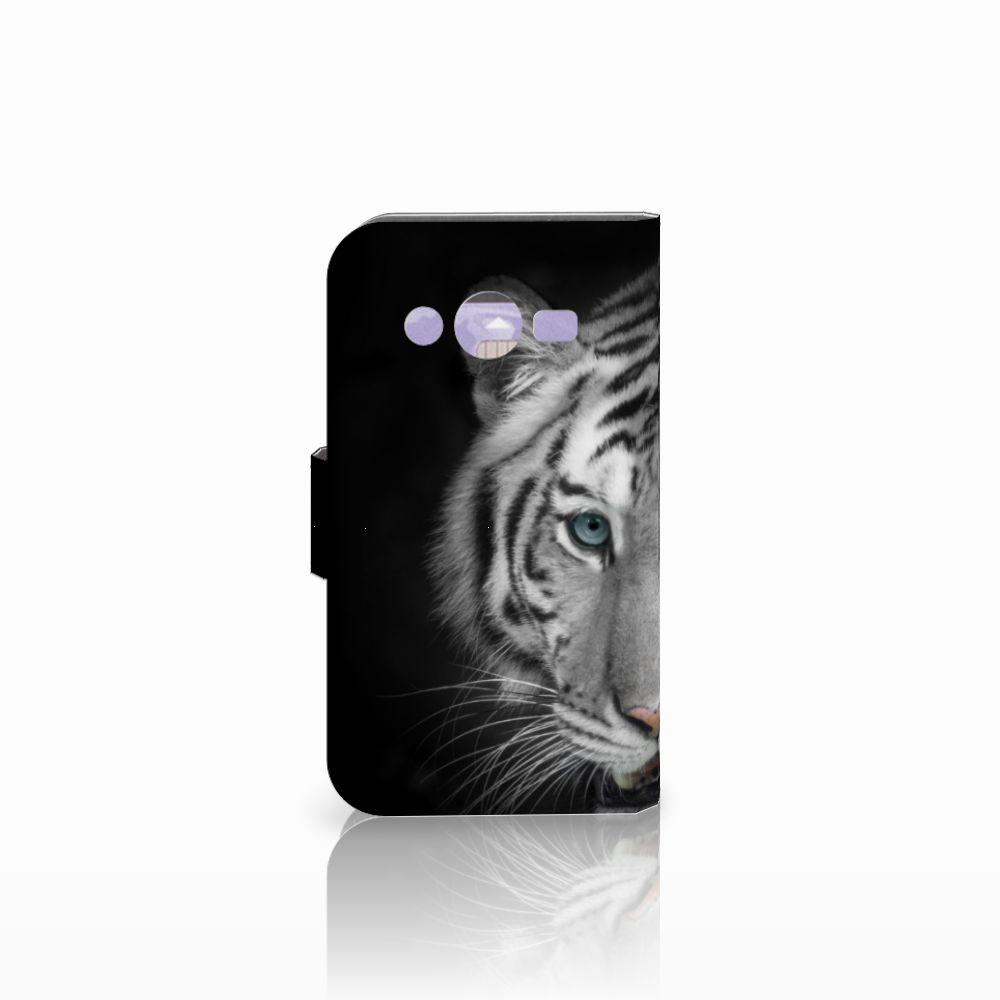 Samsung Galaxy Core 2 Telefoonhoesje met Pasjes Tijger