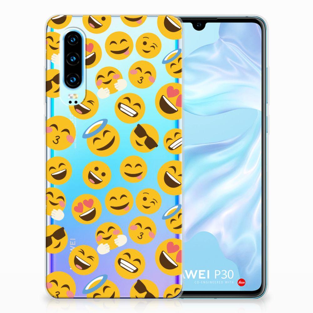 Huawei P30 TPU bumper Emoji