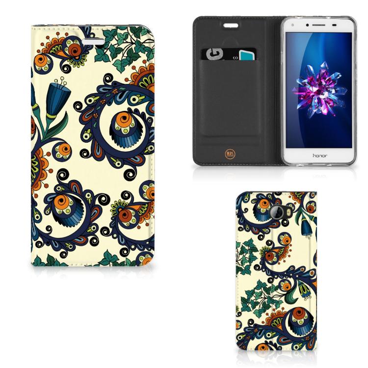 Telefoon Hoesje Huawei Y5 2 | Y6 Compact Barok Flower
