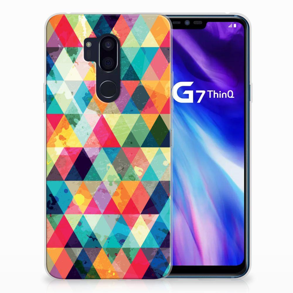 LG G7 Thinq TPU bumper Geruit