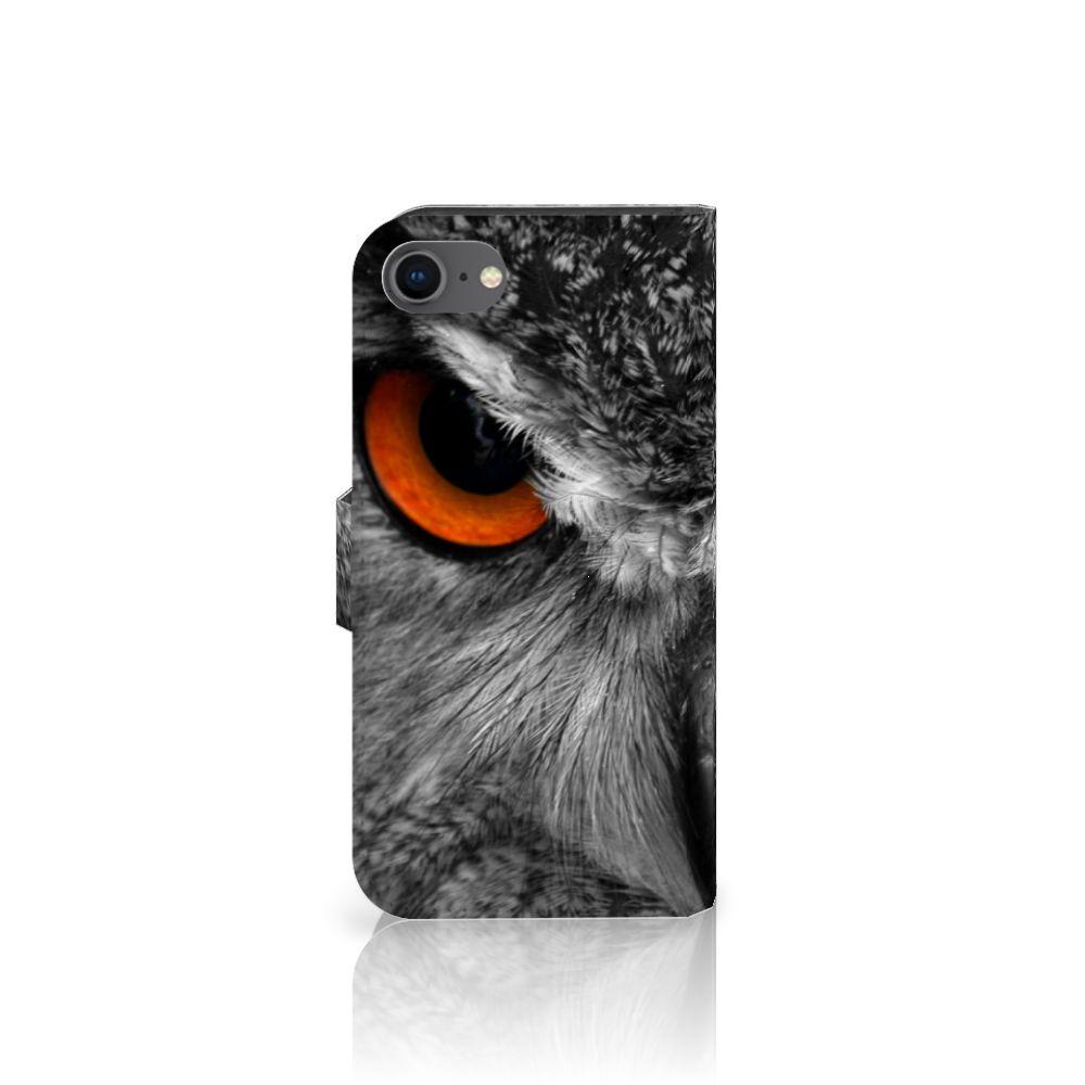 iPhone 7   8   SE (2020) Telefoonhoesje met Pasjes Uil