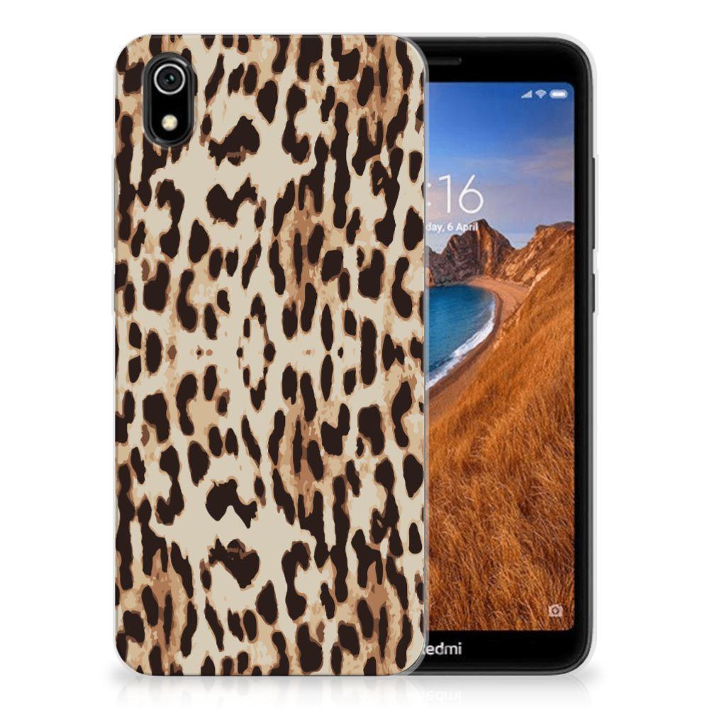 Xiaomi Redmi 7A TPU Hoesje Leopard