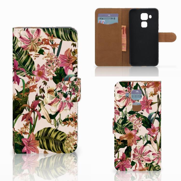 Huawei Nova Plus Hoesje Flowers