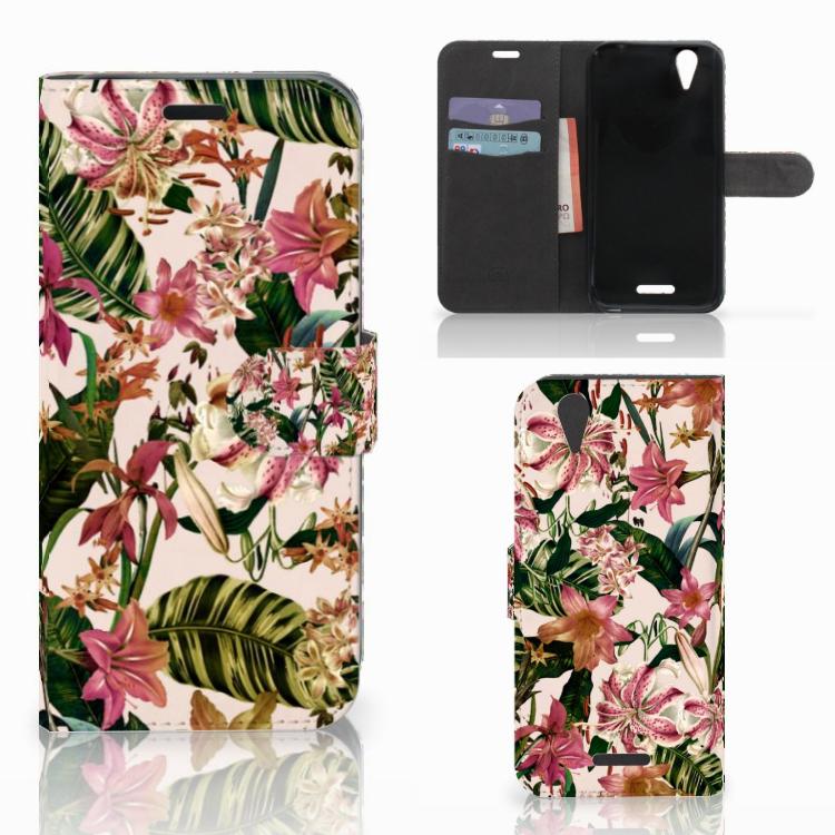 Acer Liquid Z630 | Z630s Hoesje Flowers