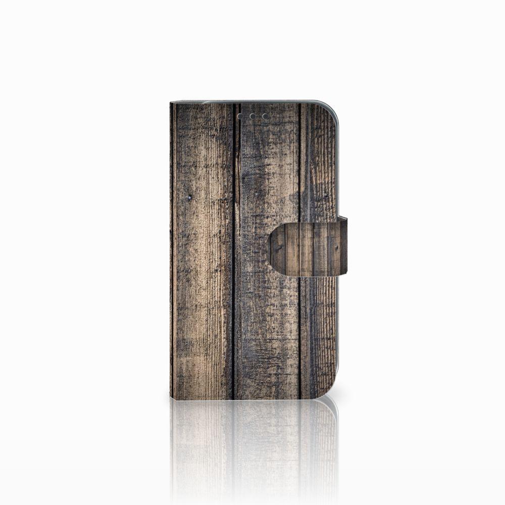 Samsung Galaxy Xcover 4 Boekhoesje Design Steigerhout