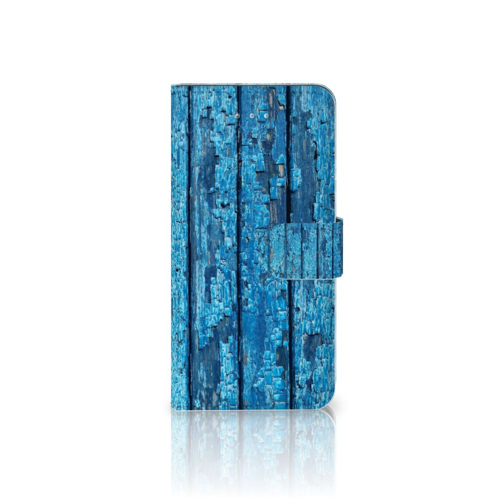 Honor 4A | Y6 Book Style Case Wood Blue
