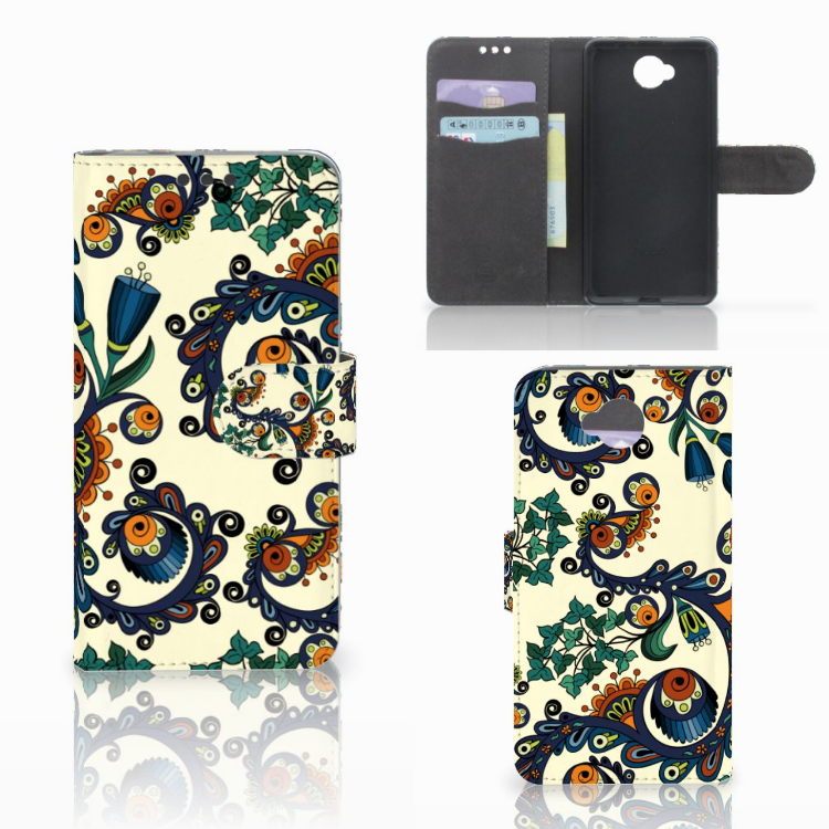 Wallet Case Microsoft Lumia 650 Barok Flower