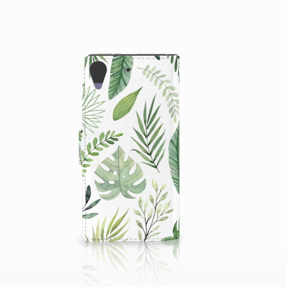 HTC Desire 628 Hoesje Leaves