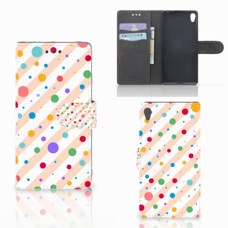 Sony Xperia E5 Telefoon Hoesje Dots