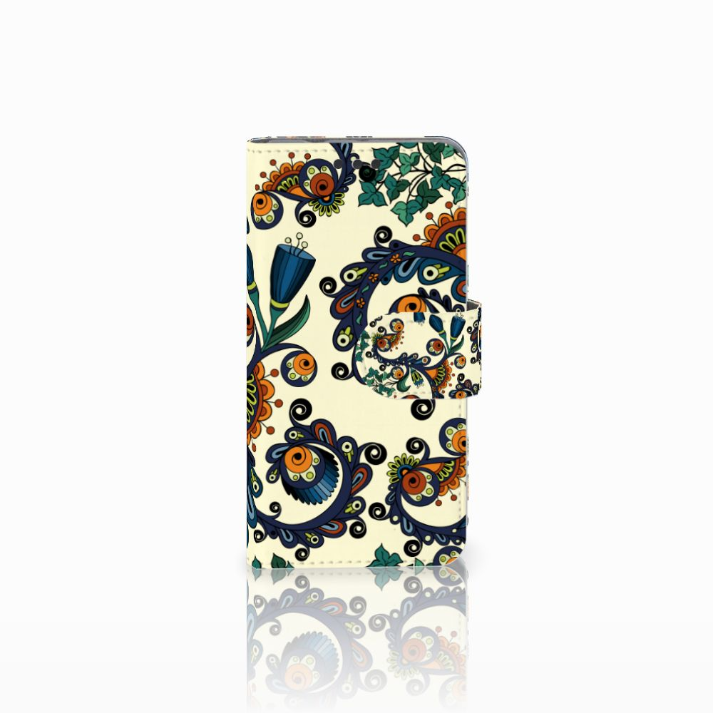 Sony Xperia Z3 Compact Boekhoesje Design Barok Flower