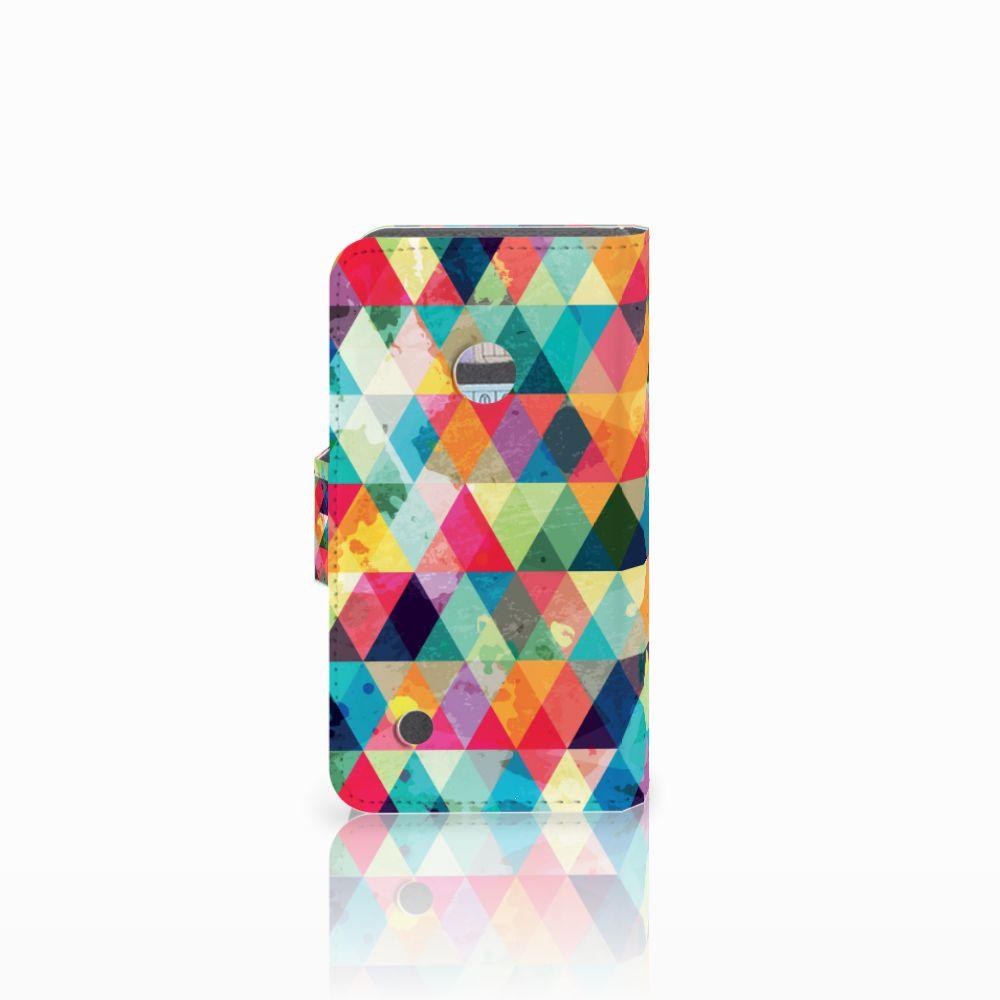 Nokia Lumia 530 Telefoon Hoesje Geruit