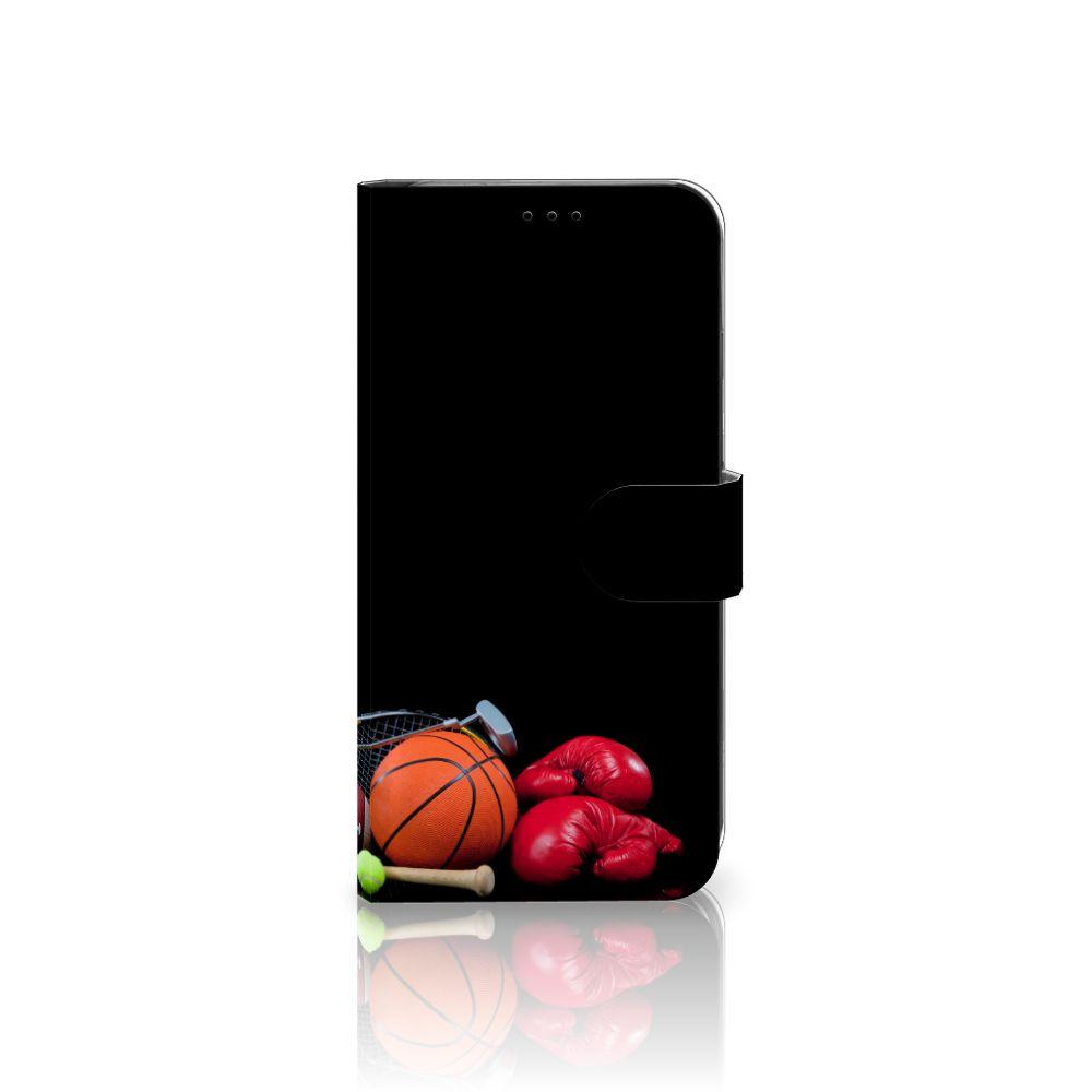 Apple iPhone Xs Max Boekhoesje Design Sports