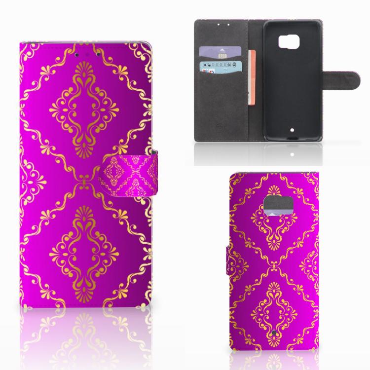 Wallet Case HTC U Ultra Barok Roze